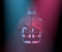 Funtime Ripdoll - Sister Location FAN-ART WIP C4D by HeroGollum