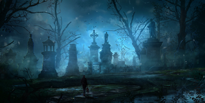 Cemetery by stgspi