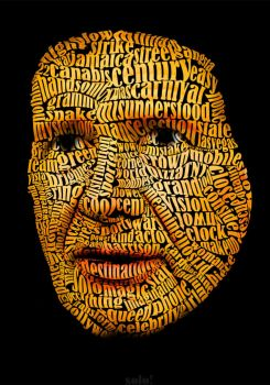 Harrison Ford Text Art by sologfx