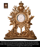 RESTRICTED - Versailles Clock by frozenstocks