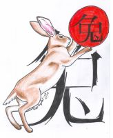 Chinese Horoscope Rabbit by LARvonCL
