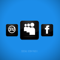 15 Social Icon Pack by azad720