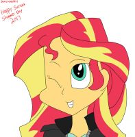 Sunset Shimmer Day by Sonicrules831