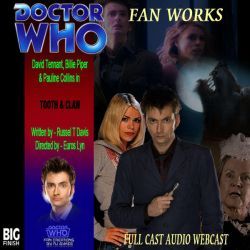 Tooth And Claw - Big Finish cover by DWFanCreationsRjSyke