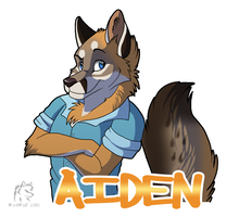 Aiden Badge by WindWo1f