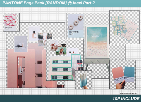 [SHARE PNGs] PANTONE Pngs Pack @Jaexi Part 2 by SuzyKimJaeXi