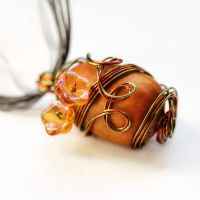 Elven Acron Necklace - Sold by DreamyElegance