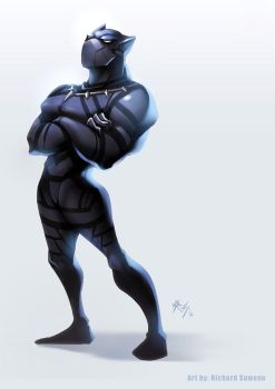 Black Panther is MVP! by r-chie