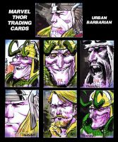 Thor Cards by urban-barbarian
