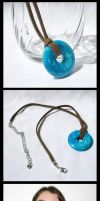 Turquoise Necklace by GeneveveX