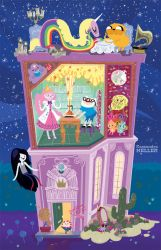 Adventure Time house by KassandraHeller