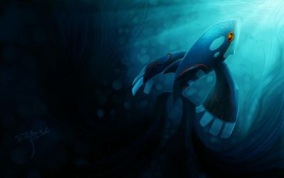 kyogre by luminoire