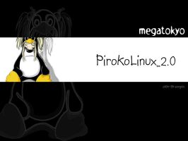 PiroLinux2 white by theOZmosis