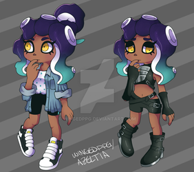 [NEW SPLATOON FC]: Dahlia by WingedPPG