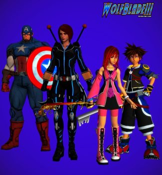 Romanogers and Sokai: The Boys and Their Red Heads by WOLFBLADE111