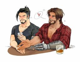 Overwatch - McHanzo by WinglyC