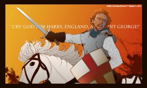 Henry V: Once more unto the Breach by claudiakat