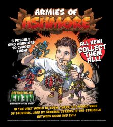 Armies of Ashmore Toy Ad by oICEMANo