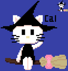 Hello Kitty the Witch by CalDraws