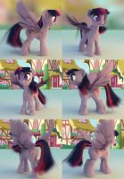 Twilight Sparkle 3D model WIP v.5 by nicolaykoriagin