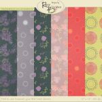 FREE Paper Patterns by Rene Blooms by SunnyFunLane