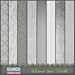 Textured Grayscale Papers by ZaZaScrapAndTubes