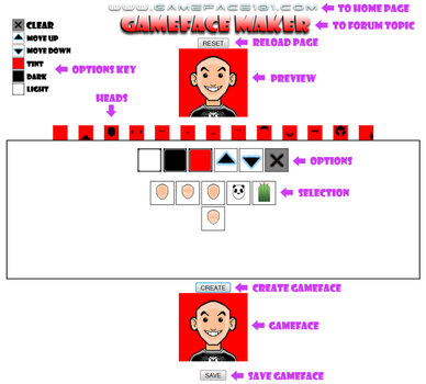 Gamefacemaker101 by G4M3F4C3