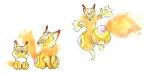 Fox Fakemon Prevol. - Redesign by Patho-boy