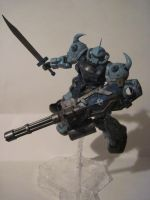 Weathered Gouf custom: by clicker-3000