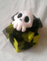 Nightmare Before Xmas themed Gift box - Green by Riskyo