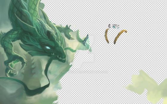 LOL: Wukong Colored Inprogress 6 by HopingHani