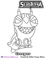 Creeper by doktorfroggminion coloring page by SKGaleana