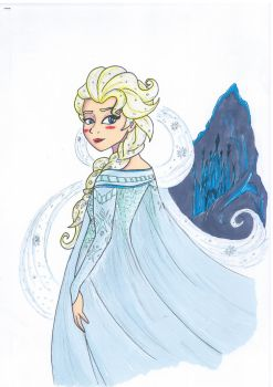 Elsa Frozen by Shingery
