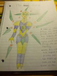 My Alien oc The Great One by jazzy3567