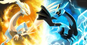 Kyurem Black and White