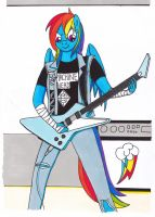 Rainbow Thrash by KillerTeddyBear94