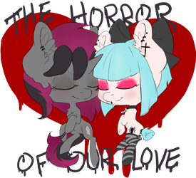 Horror of Our Love by chipperpony