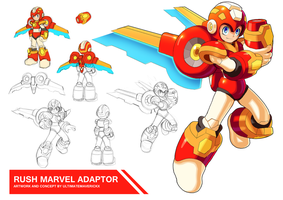 Rush Marvel Adaptor by ultimatemaverickx