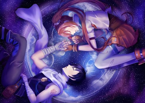 Under the Night Sky by Rissa-chi