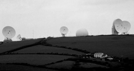 Radio telescope by UdoChristmann
