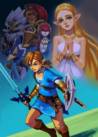Breath of the Wild by Carcoiatto