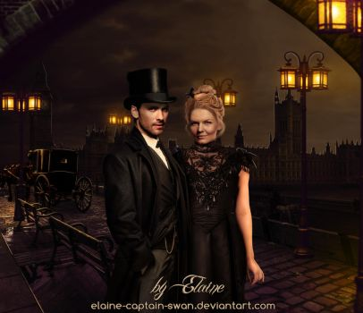 Mr.Holmes and Dr.Watson by Elaine-captain-swan