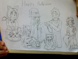 Happy Halloween from the Frontier Group by CTPikk1223