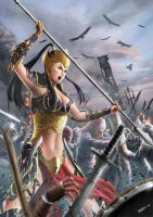 Goddess of War by ferryo