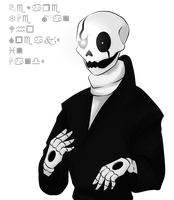 Gaster by Leahlozer
