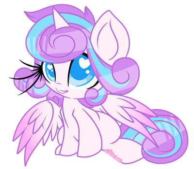 Little Crystal Princess by StarlightLore