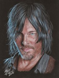 Norman Reedus 002 copy by AndyGill1964