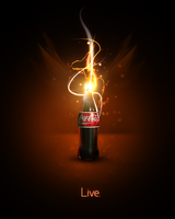 Coke Ad by ScentOfBlood