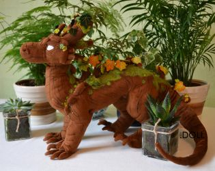 Deciduous Arbori plush by dot-DOLL
