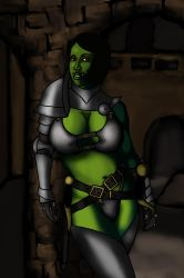 Mila in Armour 5 by balthazarstable